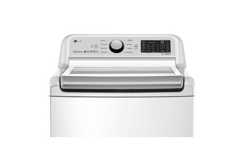 Model: WT7300CW | LG 5.0 cu.ft. Smart wi-fi Enabled Top Load Washer with TurboWash3D™ Technology