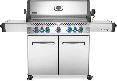 Prestige 665 RSIB with Infrared Side & Rear Burners-  Natural Gas