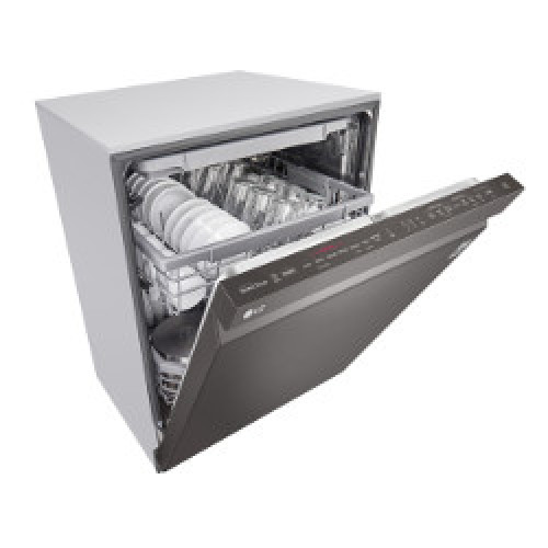 Model: LDP6809BD | LG Top Control Smart wi-fi Enabled Dishwasher with QuadWash™ and TrueSteam®