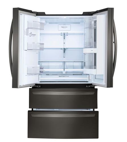 Model: LMXS28596M | LG 28 cu. ft. Smart wi-fi Enabled InstaView™ Door-in-Door® Refrigerator