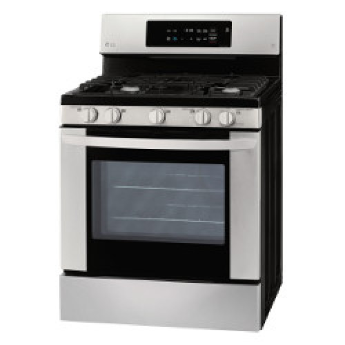 LG 5.4 cu. ft. Gas Single Oven Range with EasyClean®