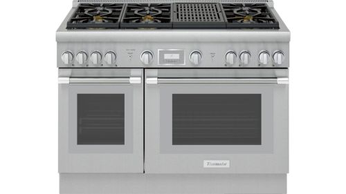 Thermador  48-Inch Pro Harmony® Standard Depth Gas Range with Grill