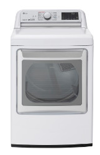 LG 7.3 cu. ft. Ultra Large Capacity TurboSteam™ Gas Dryer with EasyLoad™ Door