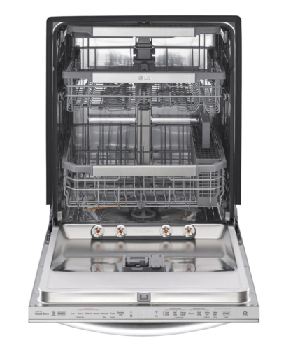 Model: LDT7808SS | LG Top Control Smart wi-fi Enabled Dishwasher with QuadWash™ and TrueSteam