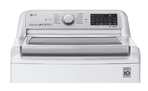 Model: WT7800CW | LG 5.5 cu.ft. Smart wi-fi Enabled Top Load Washer with TurboWash3D™ Technology