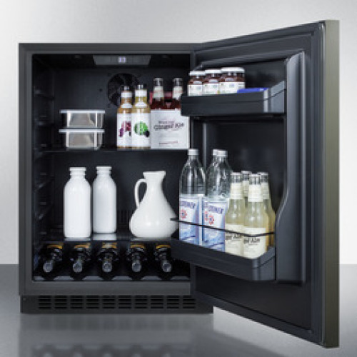 Model: AL54KSHH | Summit Built-in undercounter ADA compliant all-refrigerator