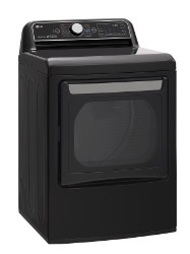 LG 7.3 cu.ft. Rear Control Top Load Gas Dryer with TurboSteam™