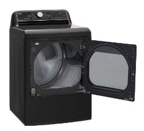 Model: DLEX7900BE | LG 7.3 cu.ft. Rear Control Top Load Dryer with TurboSteam™