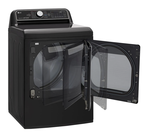 Model: DLGX7901BE   LG 7.3 cu.ft. Smart wi-fi Enabled Gas Dryer with TurboSteam™