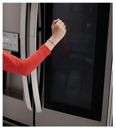 Model: LFXC22596D   LG 22 cu. ft. Smart wi-fi Enabled InstaView™ Door-in-Door® Counter-Depth Refrigerator