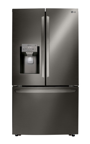 LG 24 cu. ft. Smart wi-fi Enabled French Door Counter-Depth Refrigerator
