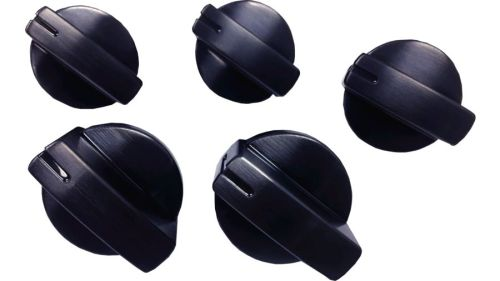 Bosch Black Stainless Knobs for Bosch Gas Cooktop