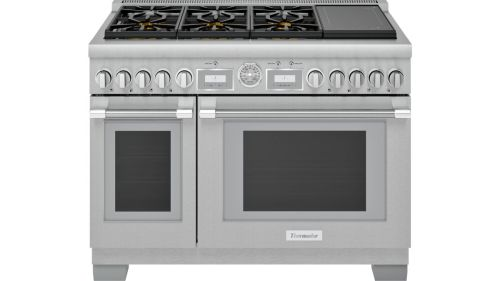 48-Inch  Dual Fuel Range with  Induction burner