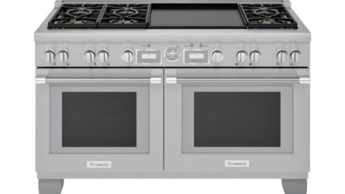 Thermador 60 Inch Professional Series Pro Grand Commercial Depth Dual Fuel Range