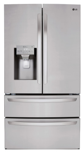 LG 28 cu. ft. Smart wi-fi Enabled French Door Refrigerator