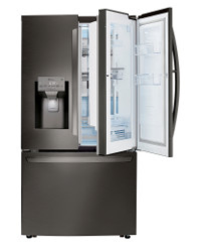 Model: LRFDS3006D | LG 30 cu. ft. Smart wi-fi Enabled French Door Refrigerator with Door-in-Door®