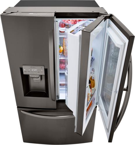 Model: LRFVC2406D | LG LG Counter Depth French Door Refrigerator