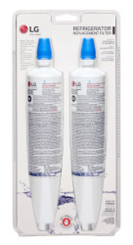 LG 2 Pack of  6 Month / 300 Gallon Capacity Replacement Refrigerator Water Filter (5231JA2006)