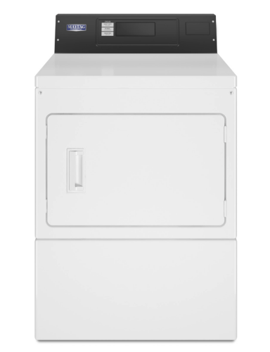 Model: MDG20PRAYW | Maytag Commercial Gas Super-Capacity Dryer, Card Reader-Ready or Non-Coin