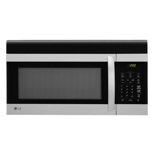 Model: LMV1760ST | LG 1.7 cu. ft. Over-the-Range Microwave Oven with EasyClean