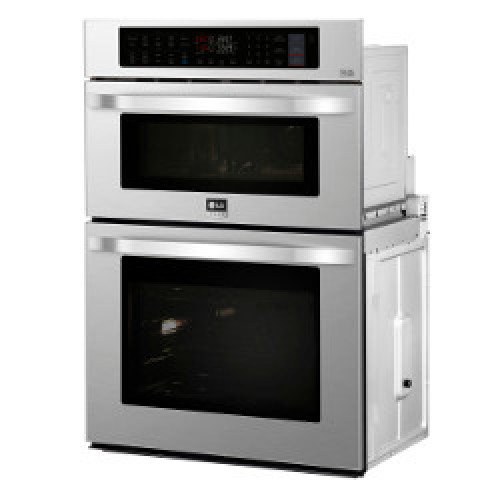 LG 1.7 / 4.7 cu. ft. Smart wi-fi Enabled Combination Double Wall Oven