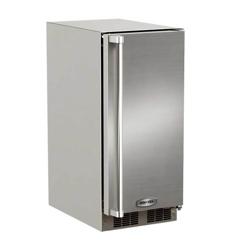 "Marvel  15"" Outdoor Clear Ice Machine-  Right Hinge"