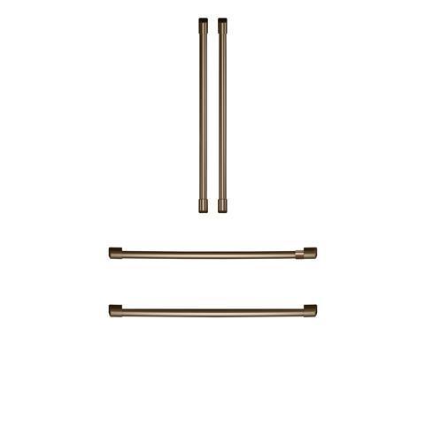Cafe Café Refrigeration Handle Kit -  Brushed Bronze