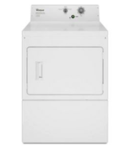 Whirlpool Commercial Electric Super-Capacity Dryer, Non-Coin