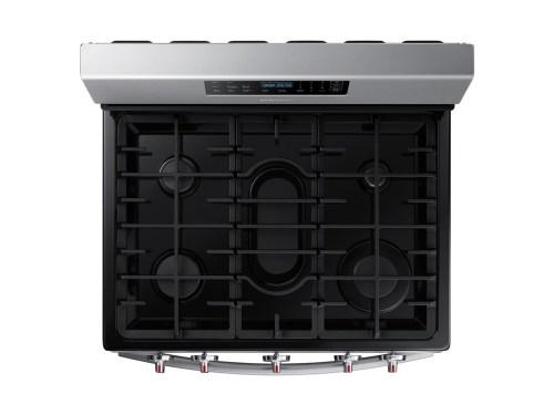 Model: NX58R4311SS | Samsung 5.8 cu. ft. Freestanding Gas Range