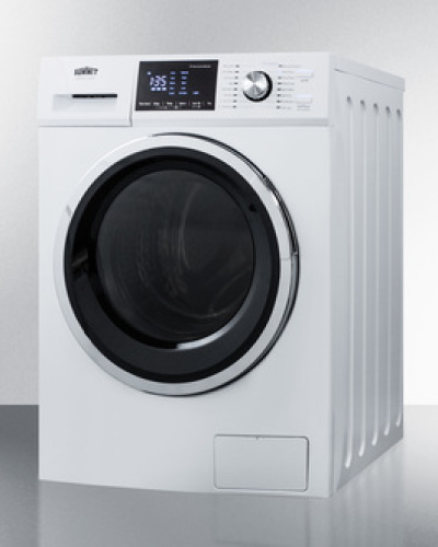 "Model: SPWD2202W | Summit 24"" wide 115V washer/dryer combo for non-vented use"