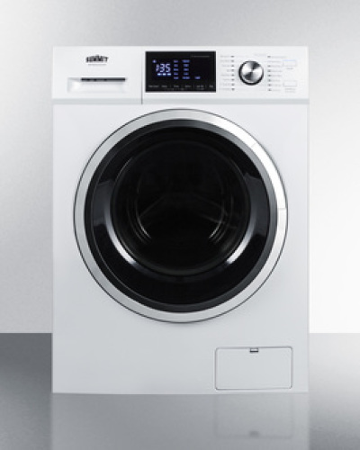 "Summit 24"" wide 115V washer/dryer combo for non-vented use"