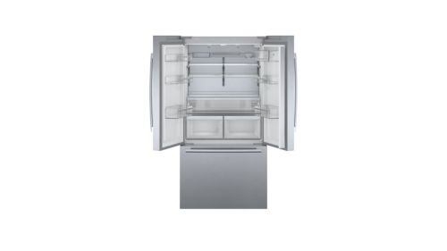 Model: B36CT80SNS | Bosch 800 Series French Door Bottom Mount Refrigerator