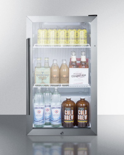 Model: SCR489OS | Summit Outdoor Beverage Cooler for freestanding use