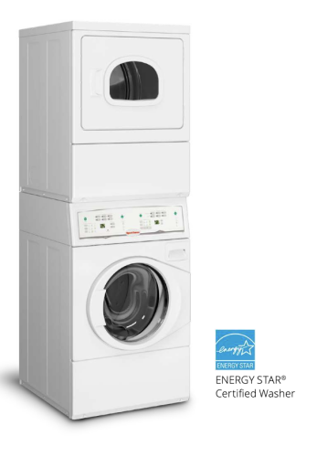 Speed Queen Stack Washer/Dryer - (Electric) Electronic Homestyle