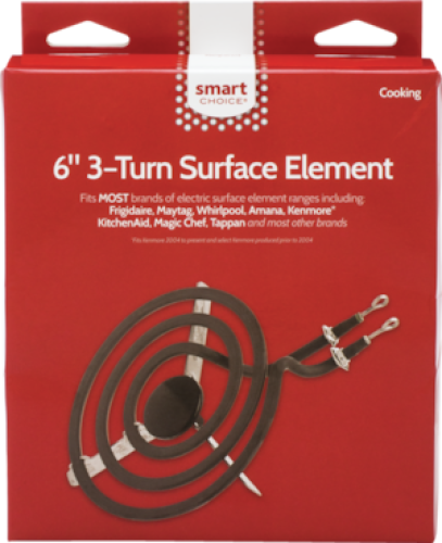 Frigidaire Smart Choice 6'' 3-Turn Surface Element, Fits Most