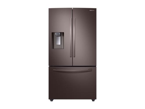 Model: RF23R6201DT | Samsung 23 cu. ft. 3-Door French Door, Counter Depth Refrigerator with CoolSelect Pantry