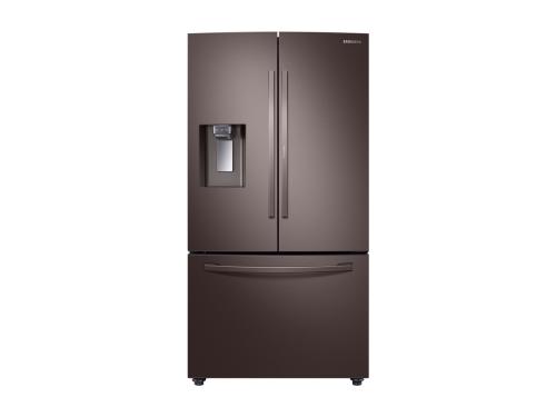 Model: RF28R6301DT   Samsung 28 cu. ft. 3-Door French Door, Full Depth Refrigerator with Food Showcase
