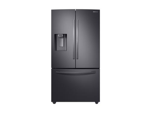 Model: RF28R6301SG | Samsung 28 cu. ft. 3-Door French Door, Full Depth Refrigerator with Food Showcase