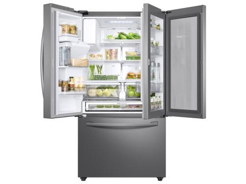 Model: RF28R6301SR | Samsung 28 cu. ft. 3-Door French Door, Full Depth Refrigerator with Food Showcase