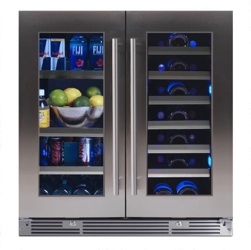 XO Appliances XO LUXURY 30? UNDERCOUNTER WINE AND BEVERAGE COOLER