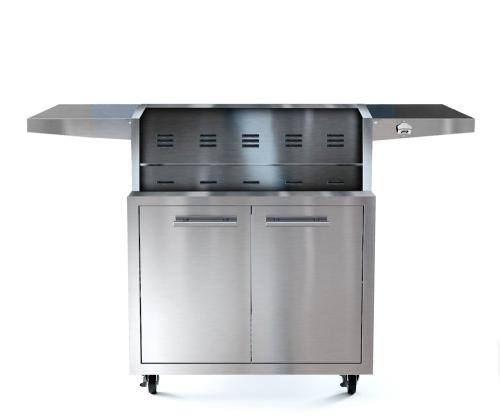 XO Appliances 30 in Grill Cart