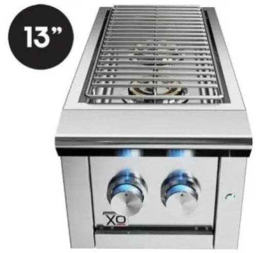 XO Ventilation 13 in Double Side Burner-  LP Gas