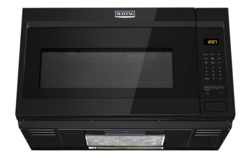 Maytag Over-the-Range Microwave with stainless steel cavity - 1.9 cu. ft.