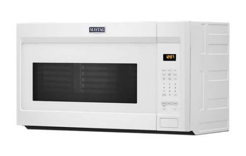 Model: MMV1175JW | Maytag Over-the-Range Microwave with stainless steel cavity - 1.7 cu. ft.
