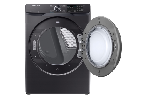 Model: DVE50R8500V   Samsung 7.5 cu. ft. Smart Electric Dryer with Steam Sanitize+