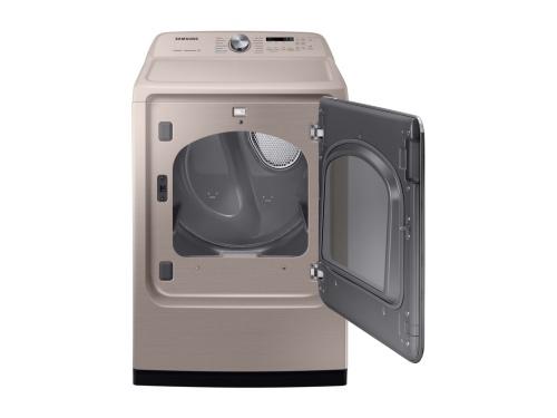Model: DVE54R7600C | Samsung 7.4 cu. ft. Electric Dryer with Steam Sanitize+