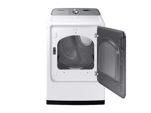 Model: DVG54R7600W | Samsung 7.4 cu. ft. Gas Dryer with Steam Sanitize+