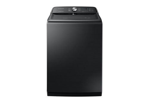 Samsung WA7200 5.4 cu. ft. Top Load Washer with Active WaterJet in Black Stainless Steel