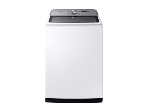 Model: WA54R7600AW | Samsung 5.4 cu. ft. Top Load Washer with Super Speed