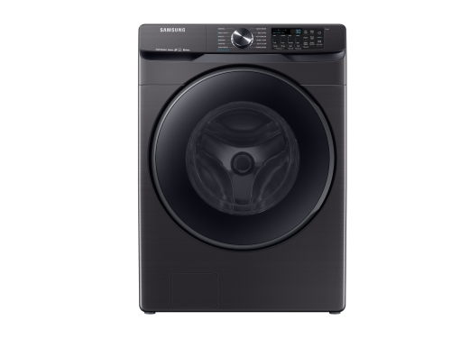 Samsung WF8500 5.0 cu. ft. Smart Front Load Washer with Super Speed in Black Stainless Steel